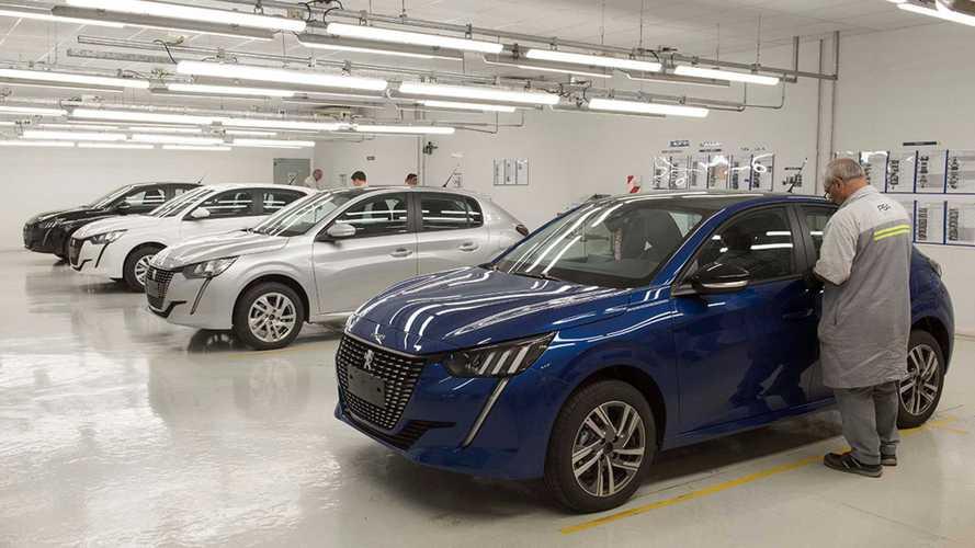 Novo Peugeot 208 terá lançamento industrial para o Mercosul no dia 15 de agosto