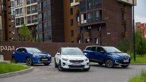 Сравнительный тест – Kia XCeed, Renault Kaptur и Lexus UX