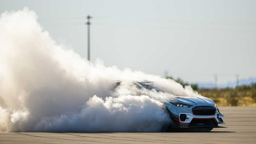 Ford Performance Mustang Mach-E Teaser