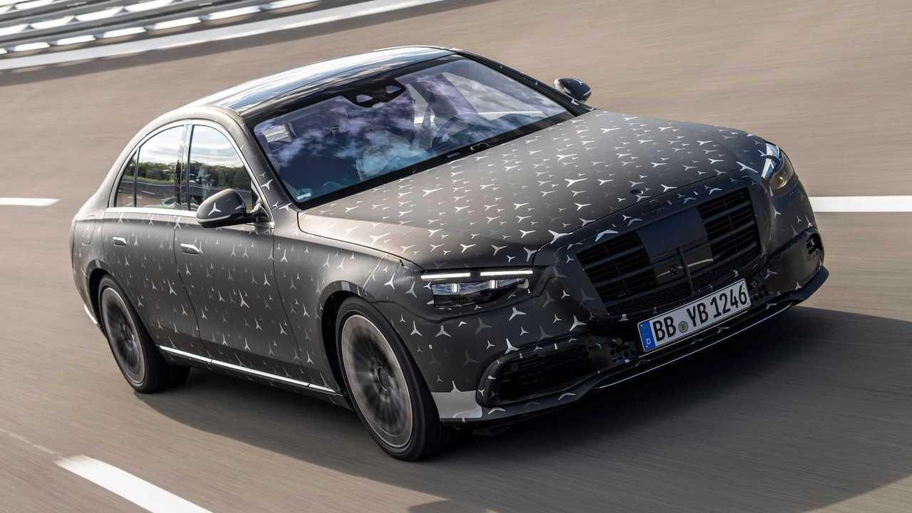 2021 Mercedes-Benz S-Class Teaser: E-Active Body Control
