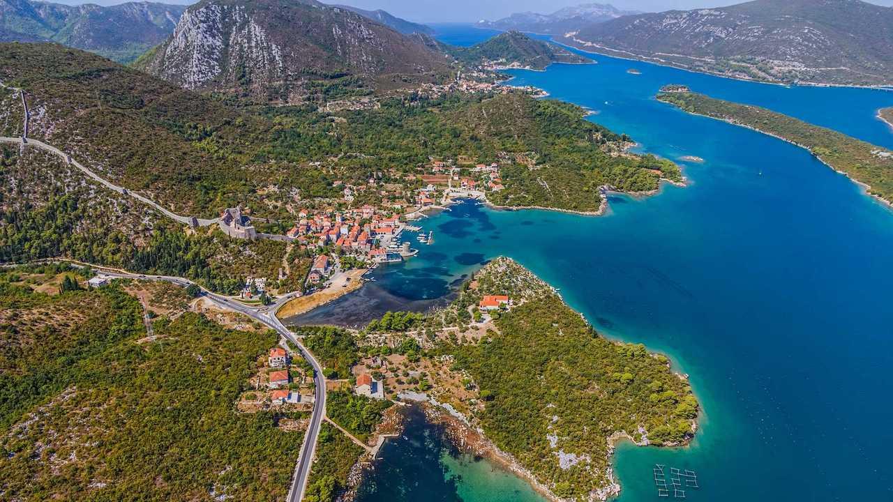 D414 State Road (Trpanj / Ston, Croatia)