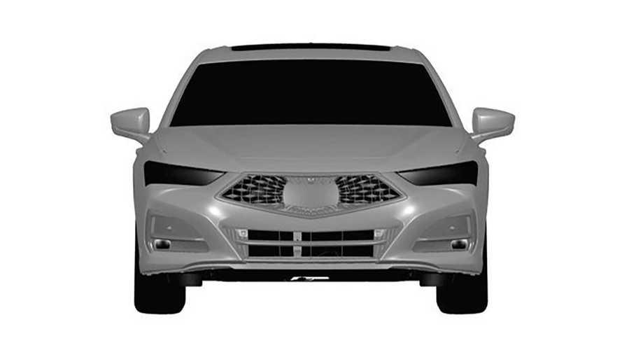 2021 Acura TLX'in Sızıntı Patent Görüntüleri