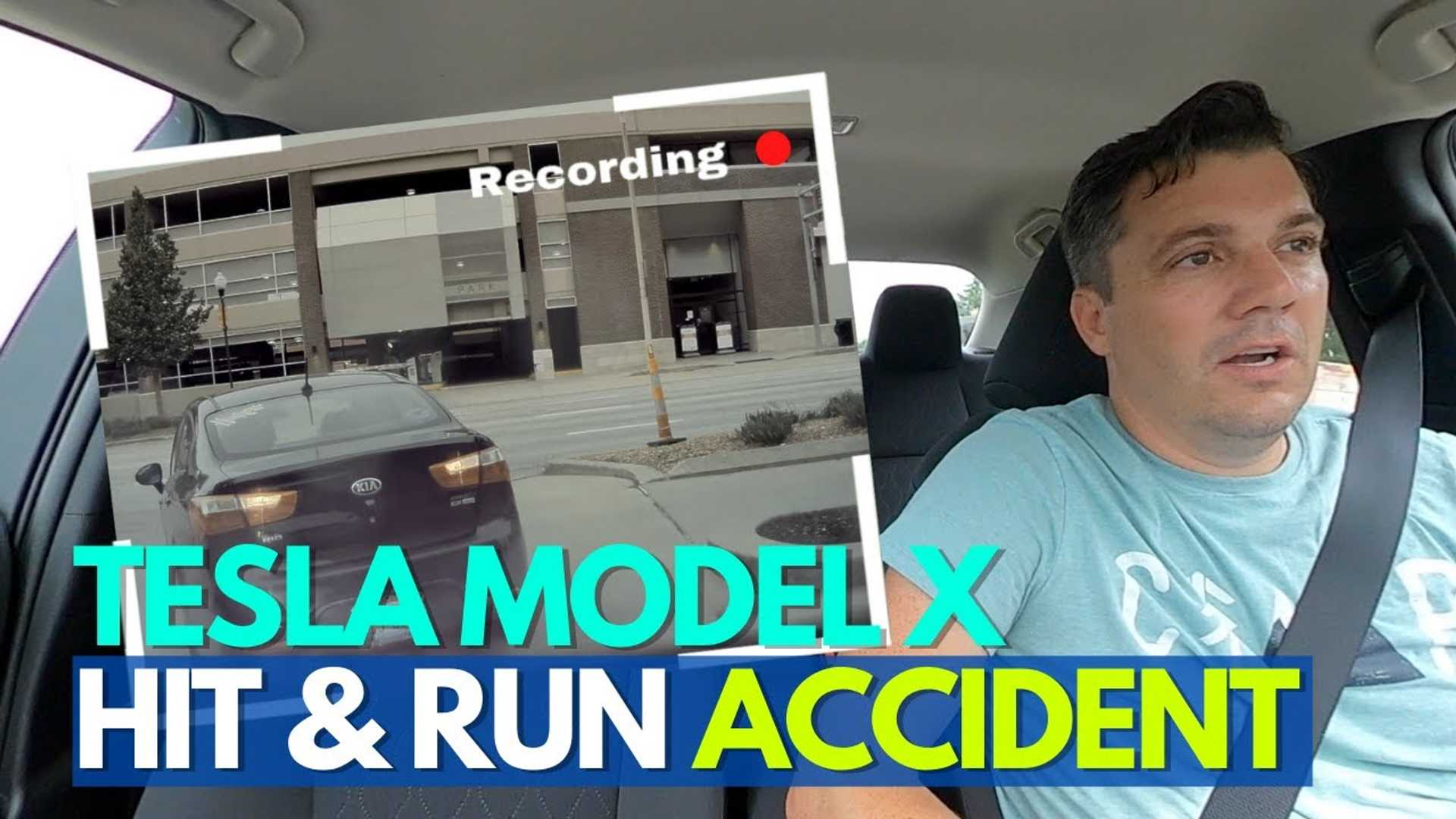 Trail Less Traveled: Brand-New Tesla Model X Hit-And-Run Crash Repair