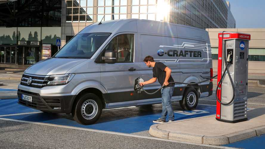 Volkswagen e-Caddy, e-Crafter y e-Transporter: ofensiva 100% eléctrica