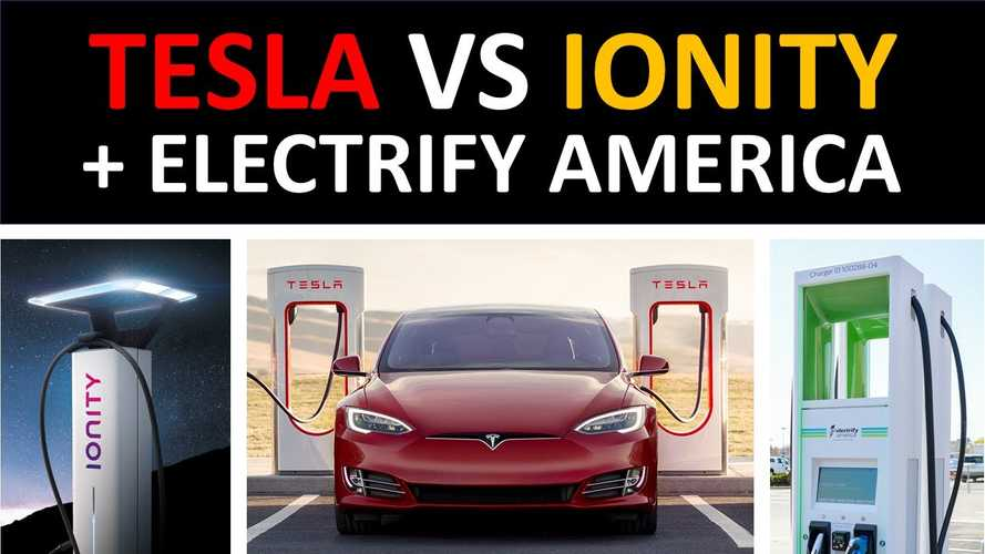 Tesla Superchargers Vs Ionity & Electrify America: Locations, Speed, Cost