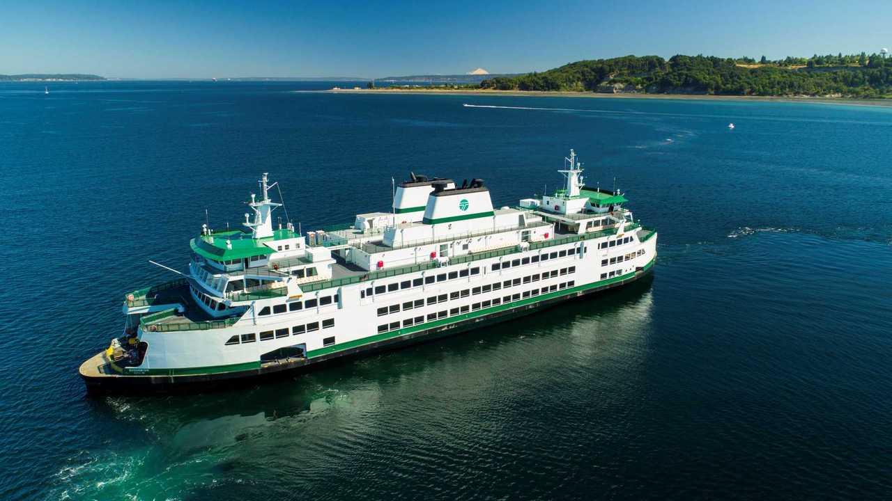 Washington State Ferry - Vigor
