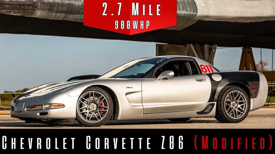 Think An 18-Year-Old Corvette Can't Go 228 MPH? Watch This