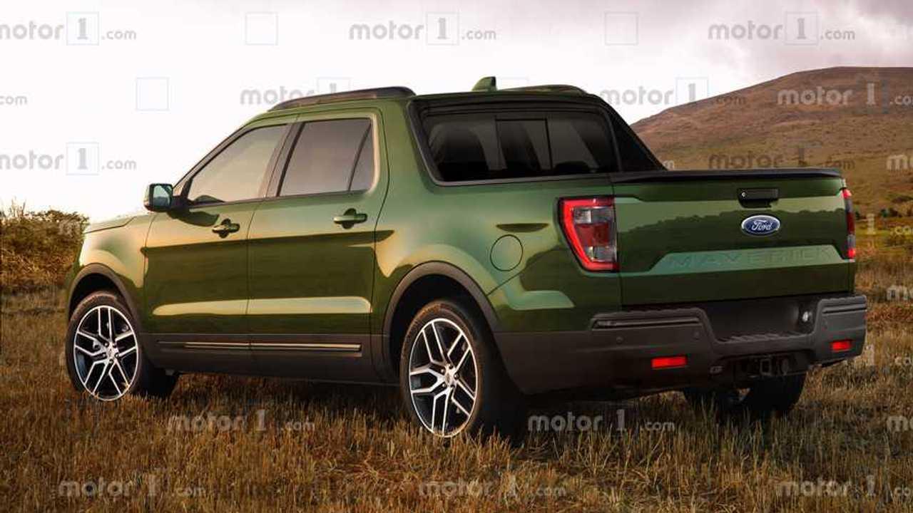 2022 Ford Maverick Pickup Rendering