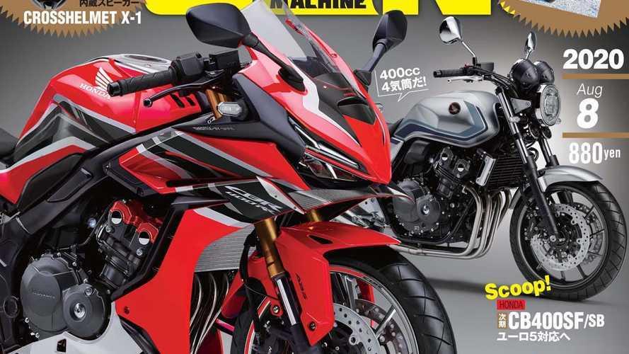 Honda CBR400RR, la suggestione che arriva dal Giappone