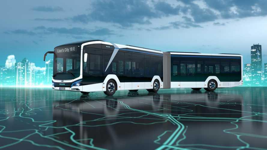 MAN Unveils Its All-New Lion's City 18 E Electric Bus