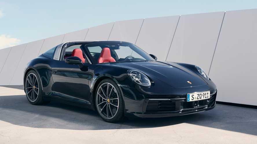 2020 Porsche 911 Targa 992 ailesinin orta noktası olmaya geldi