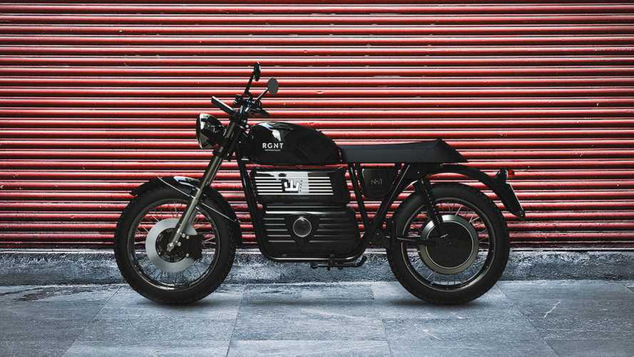 Stay Connected In Style With The RGNT No.1 Electric Motorcycle