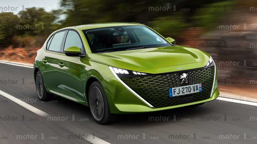 2021 Peugeot 308 rendered with an all-new striking design
