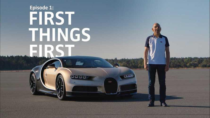 A Bugatti tesztpilótája mindent elmond a Chironról, amit tudni érdemes