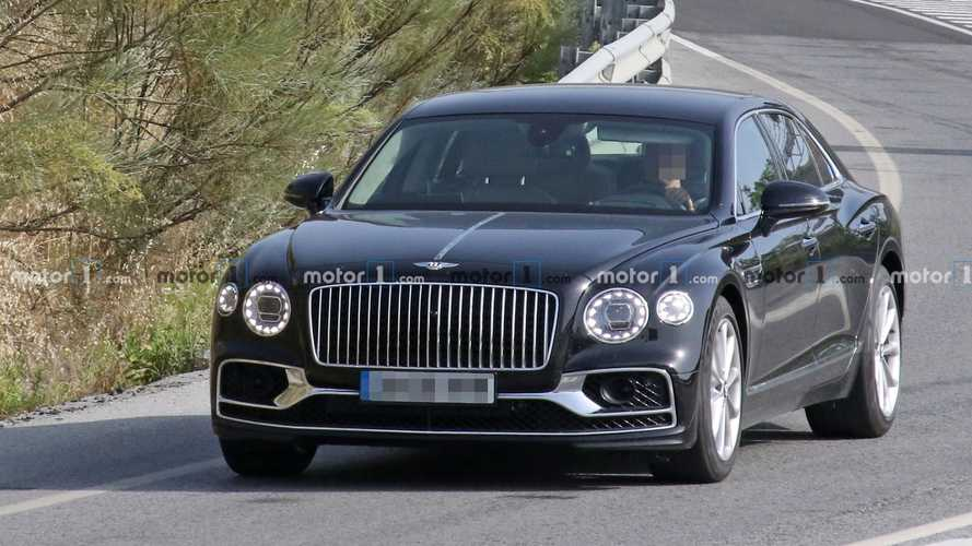 Possible Bentley Flying Spur Speed caught testing as plug-in hybrid