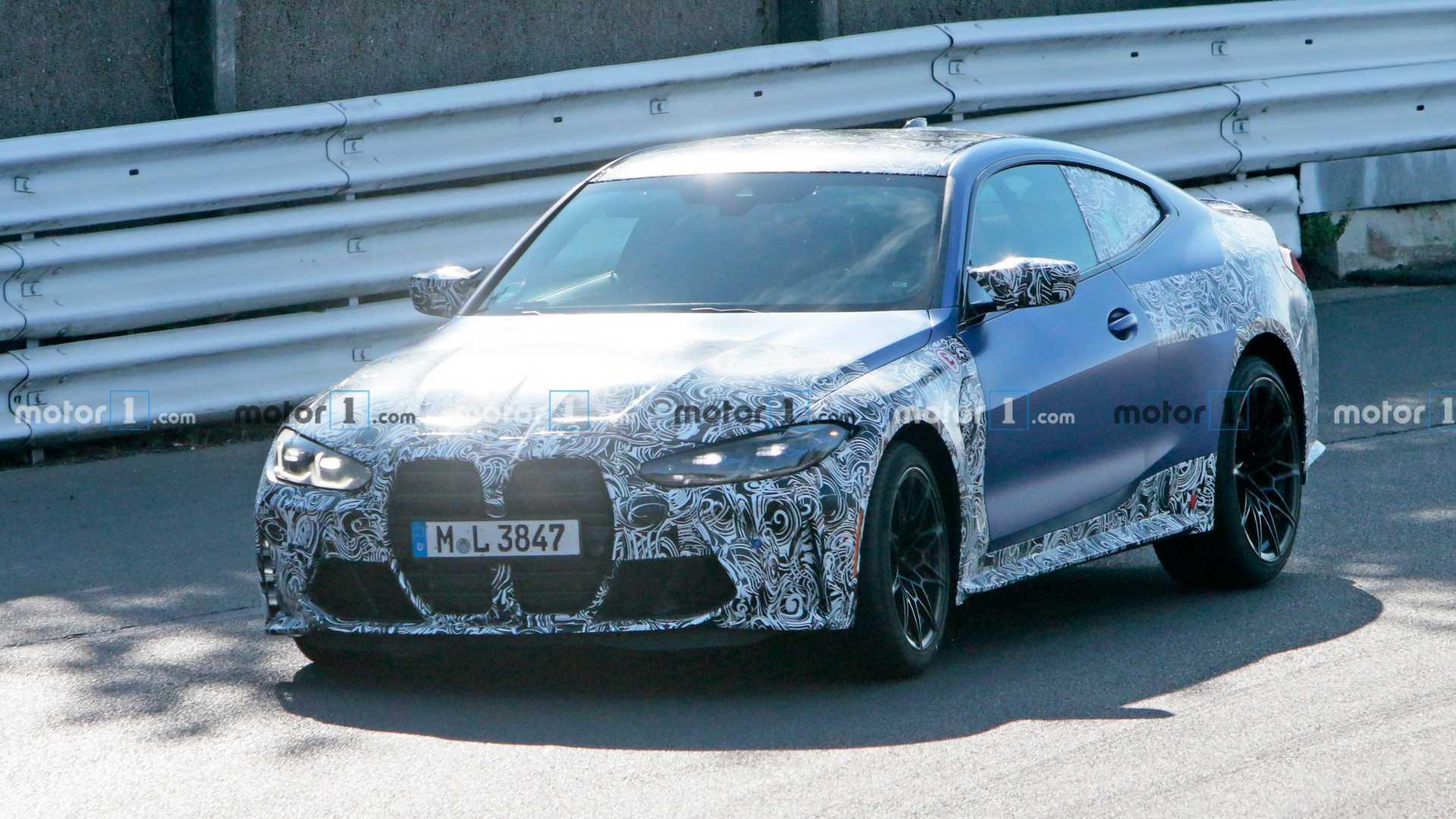 2020 - [BMW] M3/M4 - Page 19 2021-bmw-m4-at-nurburgring-front