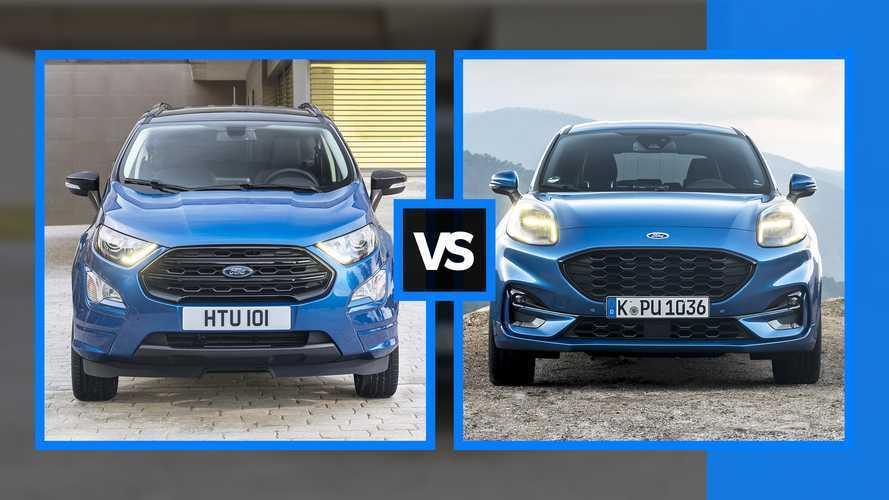 Ford EcoSport o Ford Puma? Una guida alla scelta