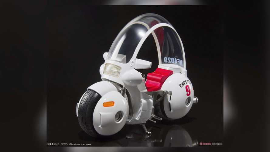 This Dragon Ball Motorcycle Model Takes Us Back To The Future