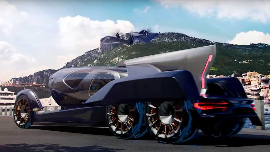 Pulse eVTOL Concept goes from executive flyer to autonomous motorhome