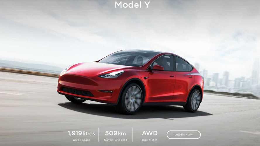 Tesla Model Y International Deliveries Have Officially Started