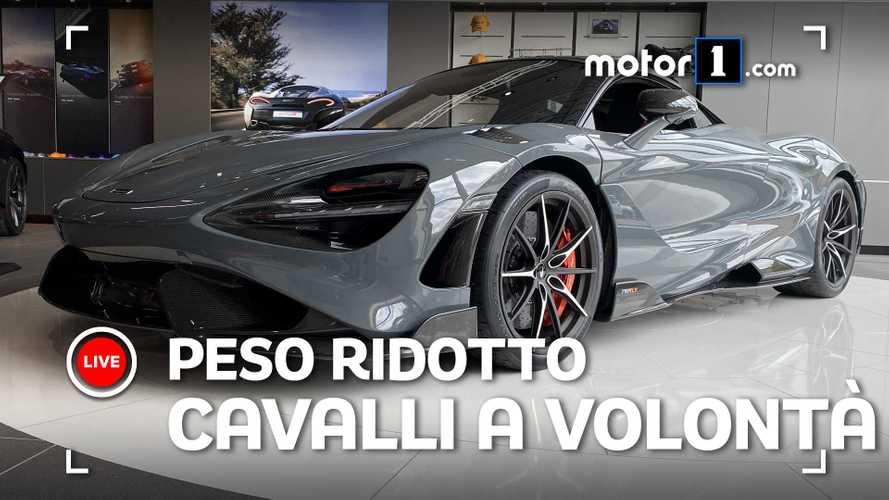 McLaren 765LT, a tu per tu con la nuova supercar inglese