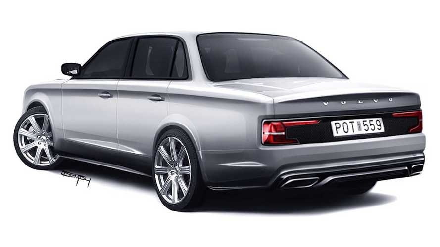 2020 Volvo 240 rendering