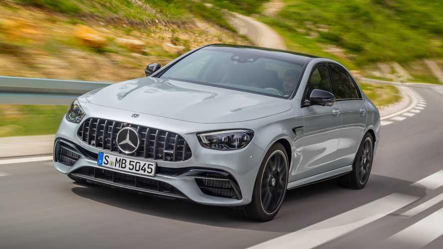 Mercedes-AMG представил обновленные седан и универсал E 63