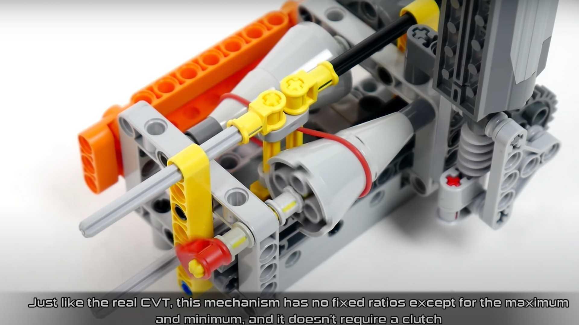 Voici comment fonctionne une boîte de vitesses CVT