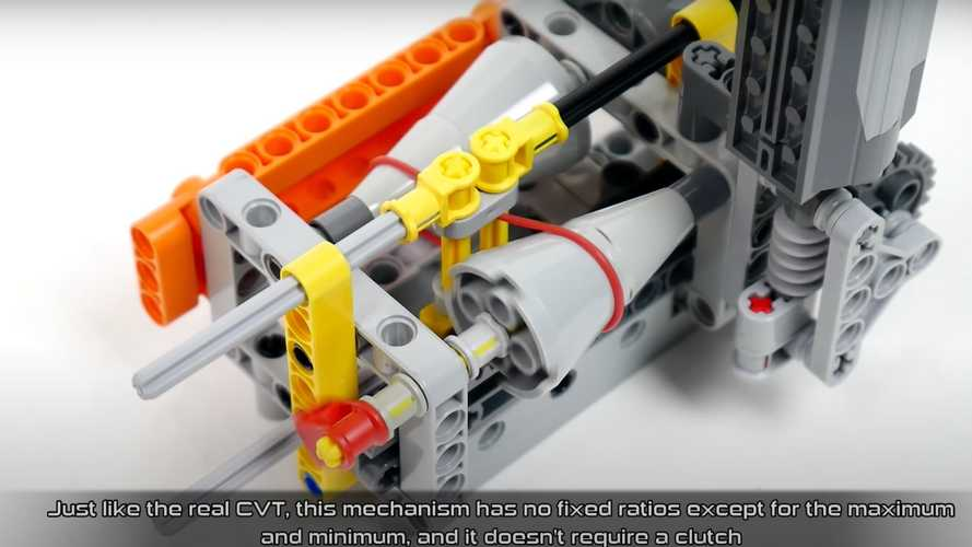 Here's How A CVT Transmission Works, Using Only Legos