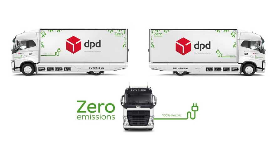 Switzerland: DPD To Use Electric Truck With Largest Battery Available