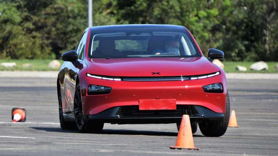 Первый тест Xpeng P7 – китайского конкурента Tesla Model 3