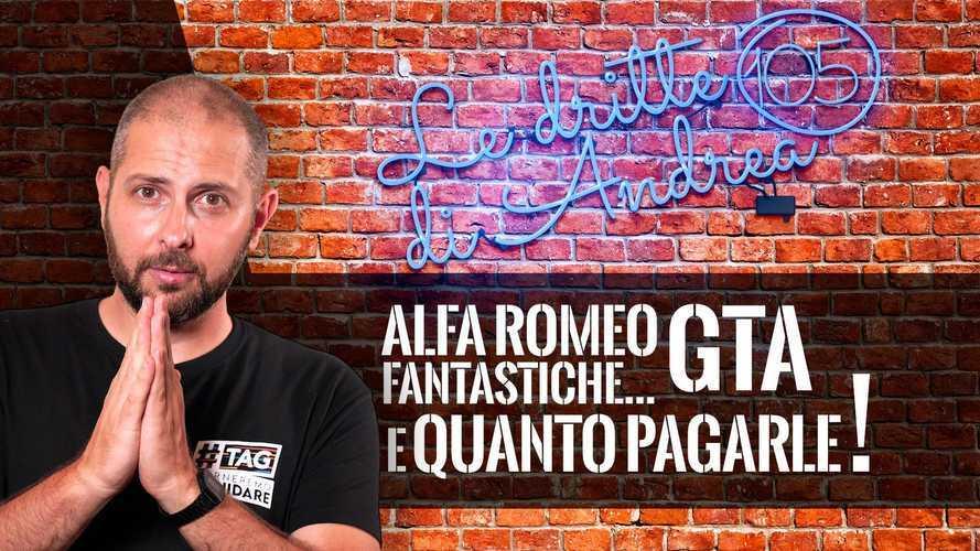 L'usato Alfa Romeo GTA: quale scegliere e quanto spendere?