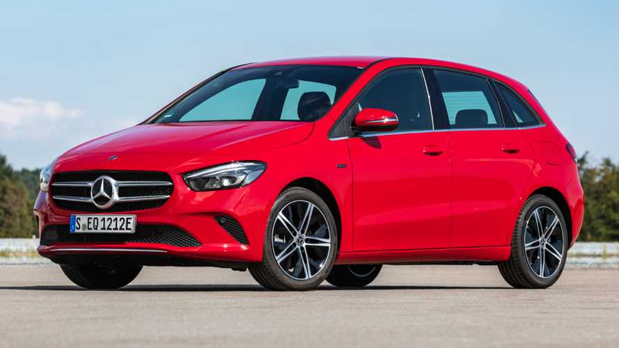 Plug-in hybrid Mercedes-Benz B-Class costs just over £35,000