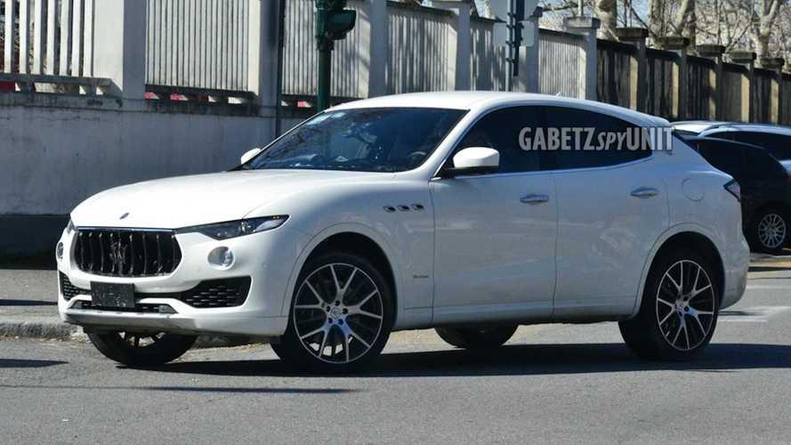 Yeni Maserati Levante objektiflere takıldı