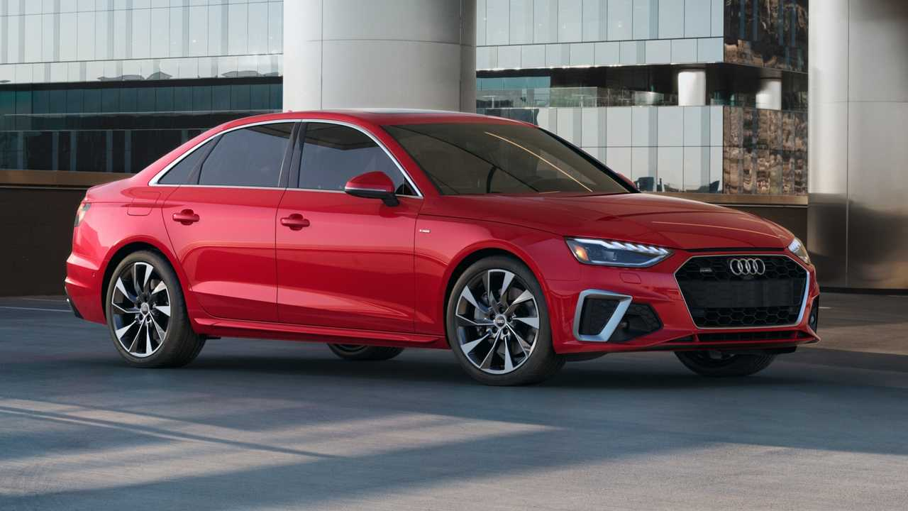 2021 Audi A4 lead image