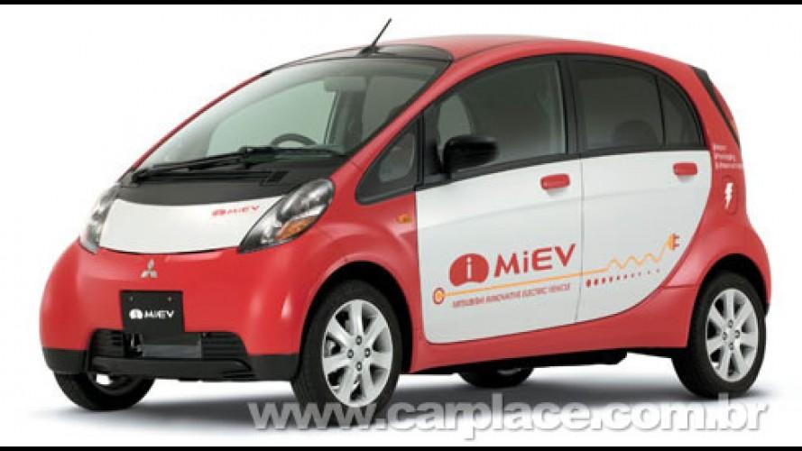 iMiev - Mitsubishi planeja ser a primeira a produzir veículos elétricos em massa