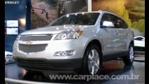 Salão do Automóvel 2008 - Chevrolet mede aceitação do Crossover Traverse