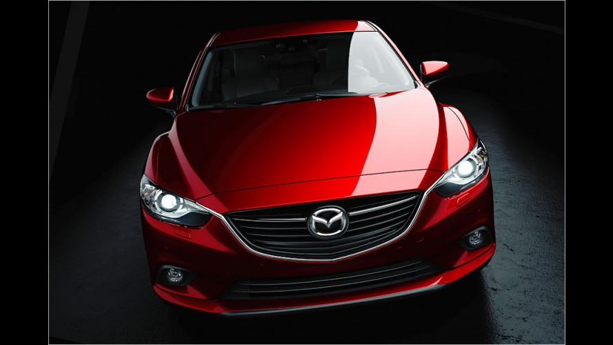 Neuer Mazda 6 (2012)