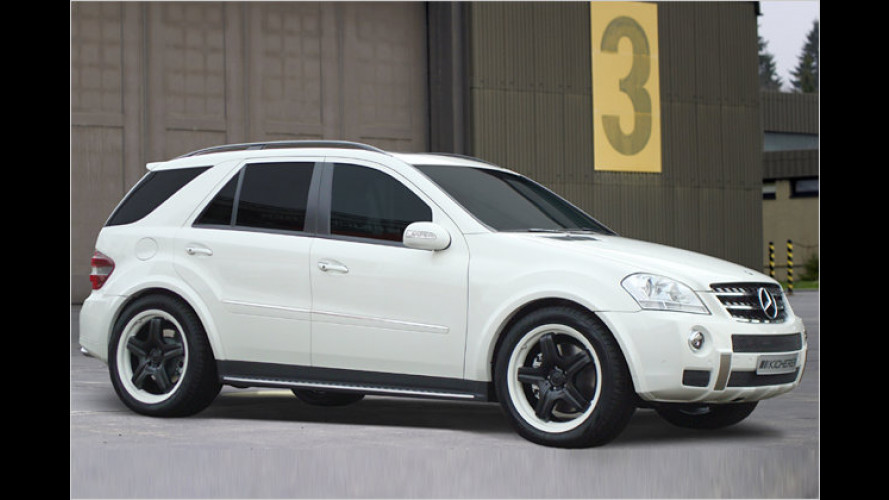 Tuner Kicherer powert den Mercedes ML 420 CDI auf 362 PS