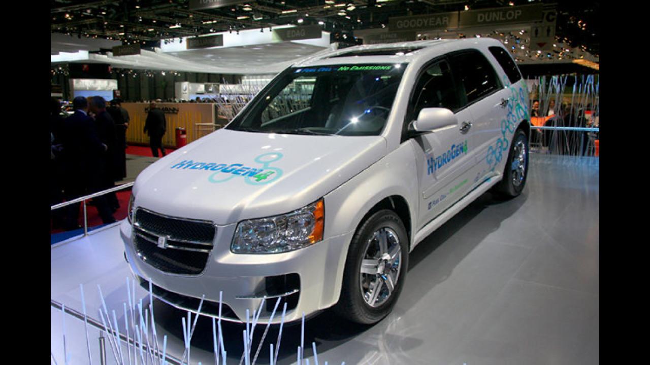 Der Name ist Programm: Im HydroGen 4 werkelt die vierte Generation des Brennstoffzellenantriebs von General Motors