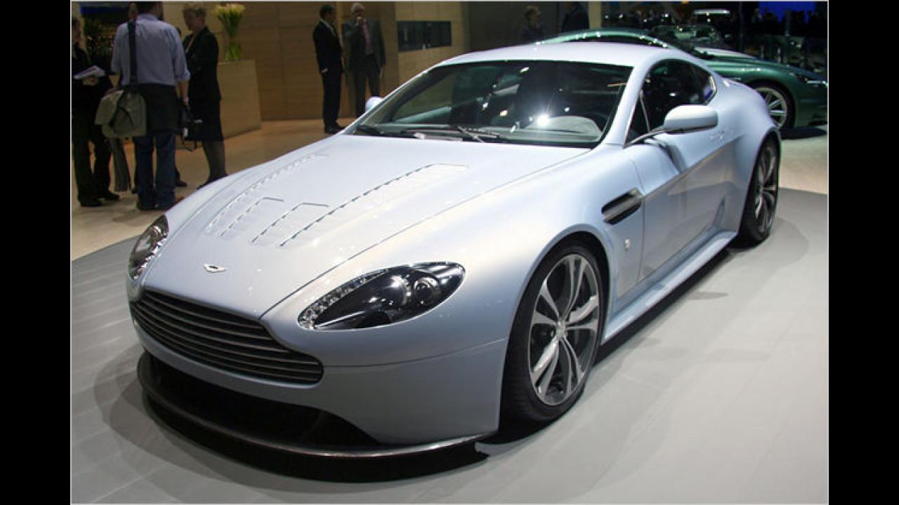 Aston Martin Vantage RS: Die Briten verpassen dem Vantage einen 600 PS starken Zwölfzylinder-Motor
