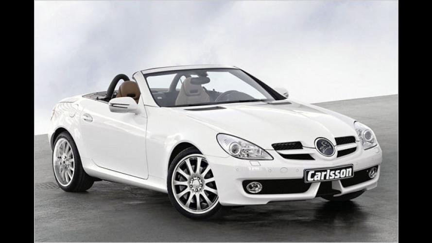 Bei Carlsson gibt es heiße Sohlen für viele Mercedes-Modelle