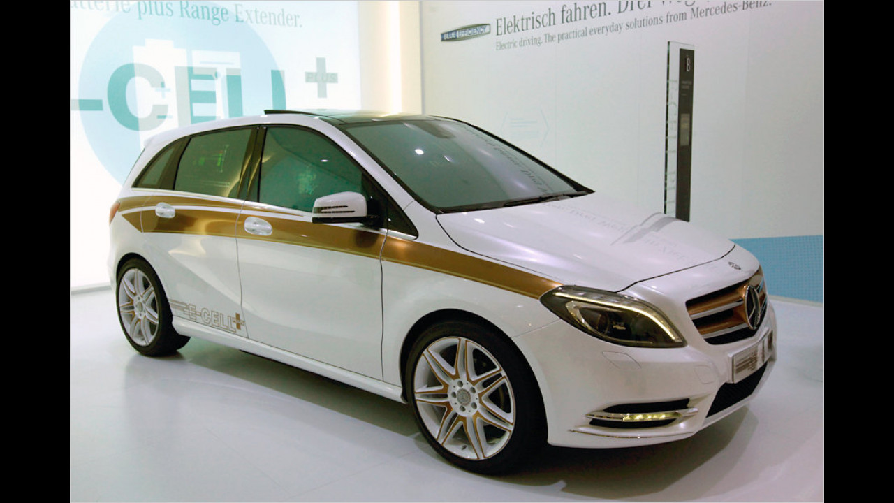 Mercedes Concept B-Class E-Cell Plus