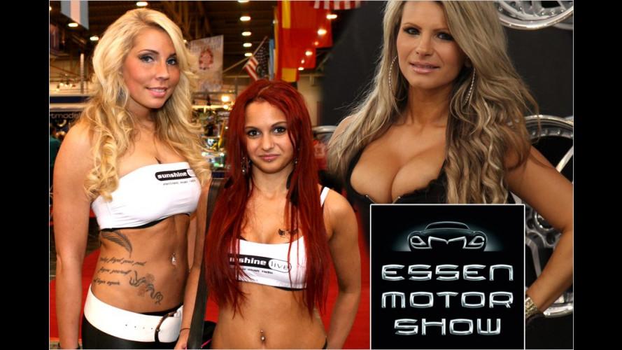 Essen Motor Show 2012: Die schärfsten Girls