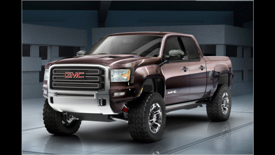 GMC Sierra All Terrain HD Concept: Schwerer Super-Pick-up