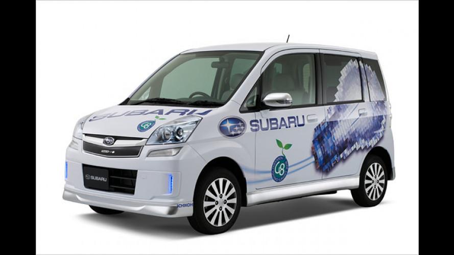 Subaru Stella Plug-in: Sauberer Stern