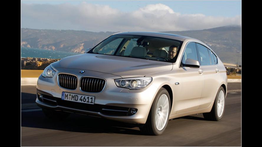 BMW fährt mit einem Schrägheck in die obere Mittelklasse