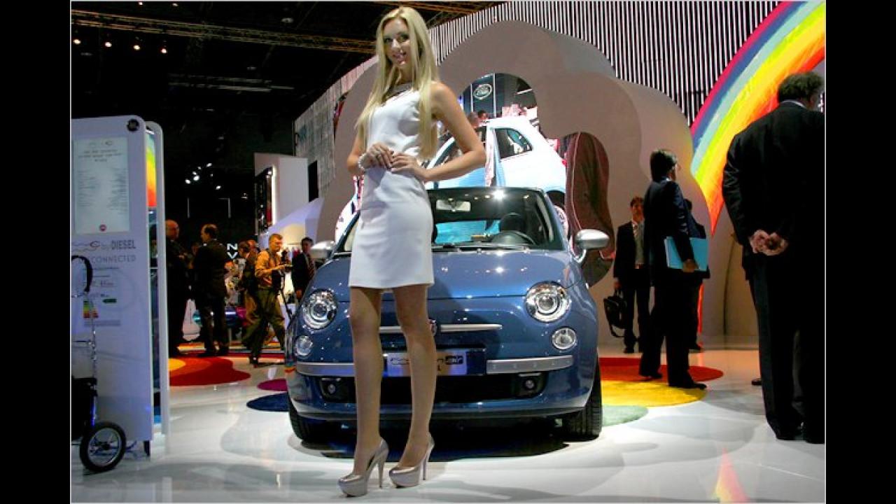 Da kriegt selbst der Fiat Kulleraugen: Ein schöner Anblick!