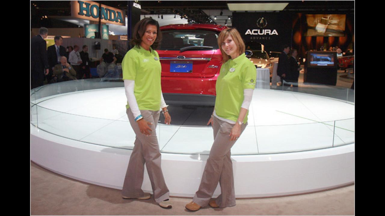Ford hat gleich zwei Exponate mit zur Messe gebracht
