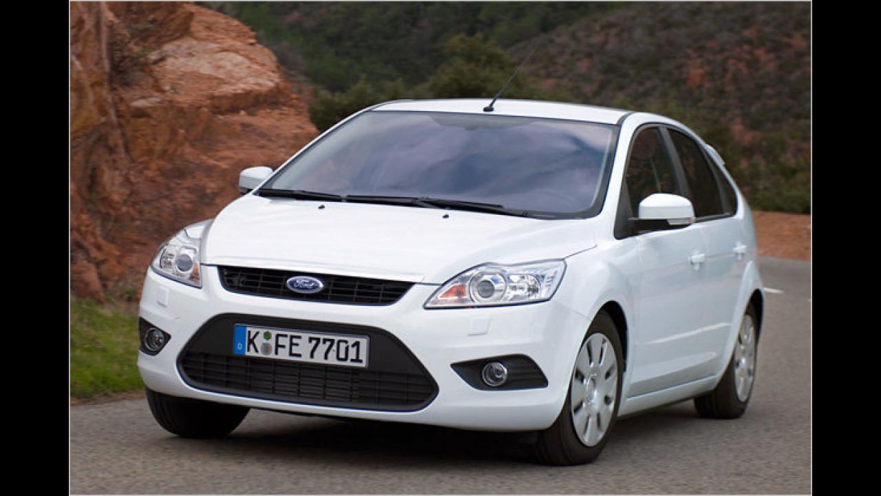 Kompaktwagen: Ford Focus 1.6 TDCi DPF ECOnetic